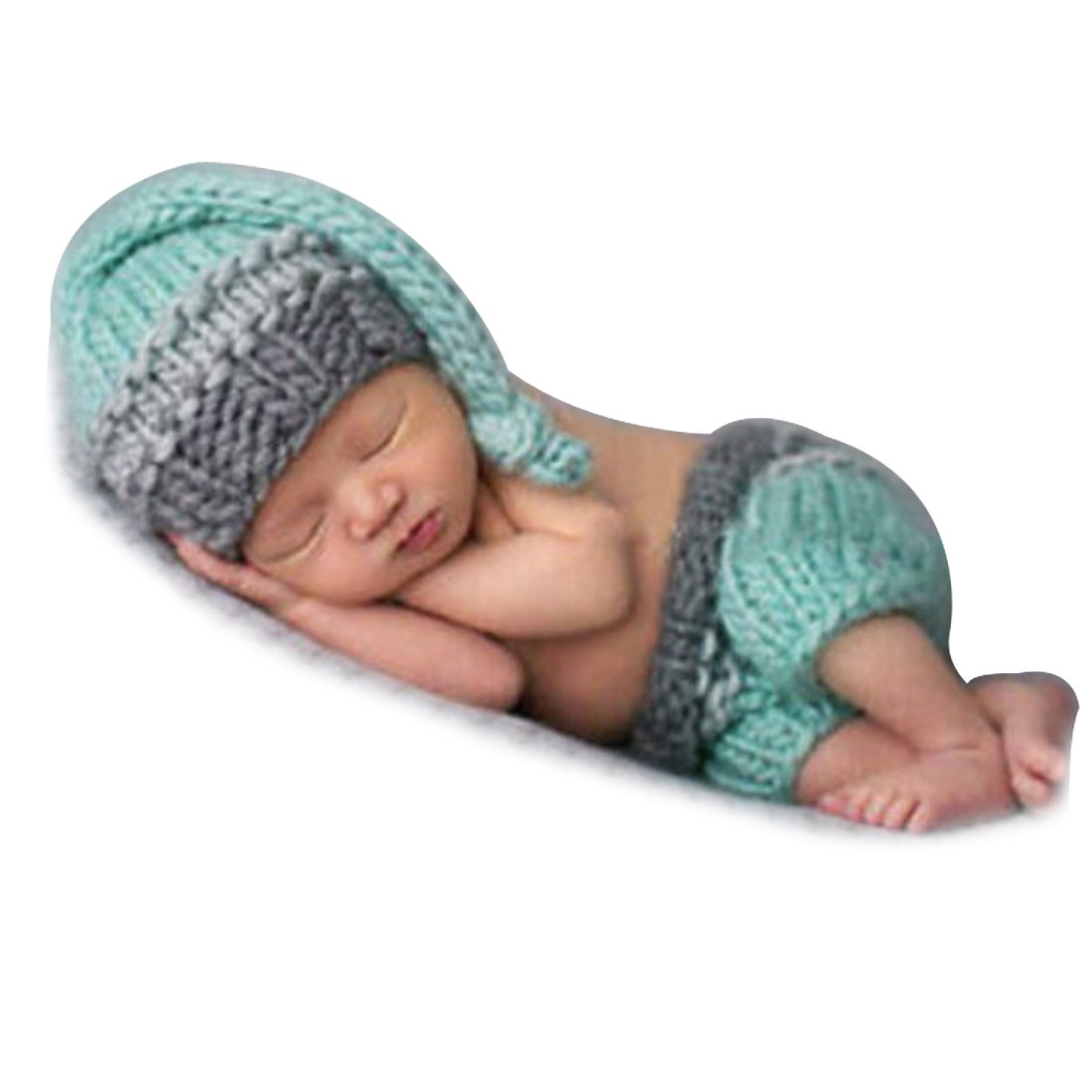 Tiaobug Neugeborene Baby Kostüm Foto Fotografie Hut Set Junge Kostüm ...