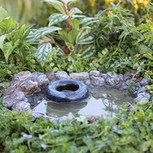 Miniature Fairy Garden Swimming Hole by Wholesale Fairy Gardens