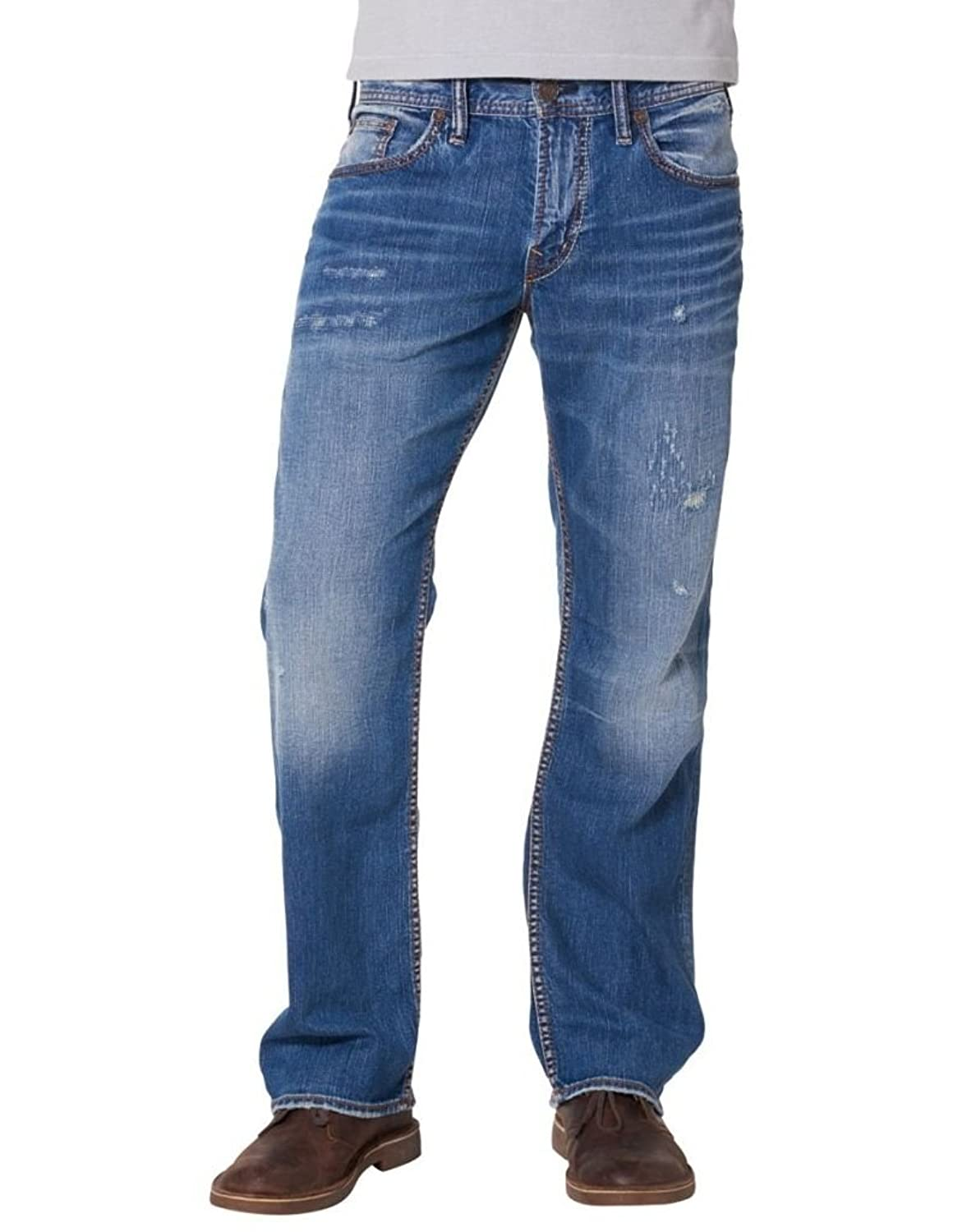 good Silver Jeans Co. Men&39s Zac Relaxed Straight Jeans