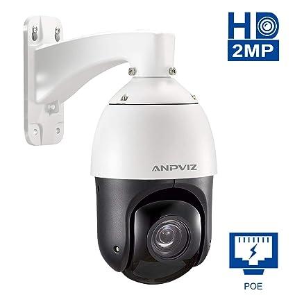 Cámara PTZ Dome, cámara Anpviz 20X con Zoom óptico HD 1080P ...