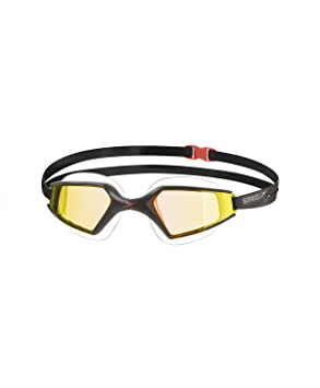 dec5c8cd5 Speedo Aquapulse MAX 2 Mirror Gafas de Natación, Unisex Adulto, Negro  (Orange Gold), Talla Única: Amazon.es: Deportes y aire libre