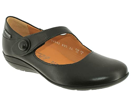 fd21567ef8034 Mephisto Women (Foot Foundation) Odalys 665 Mary-Jane Shoe In Dark Taupe  Leather 517