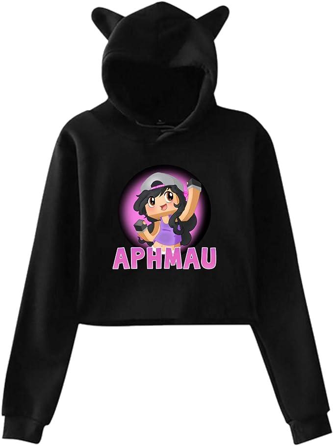 Aphmau Cat Ear Hoodie Sweater Pullover Girls Hooded Sport Novelty More Igfan Hoodies