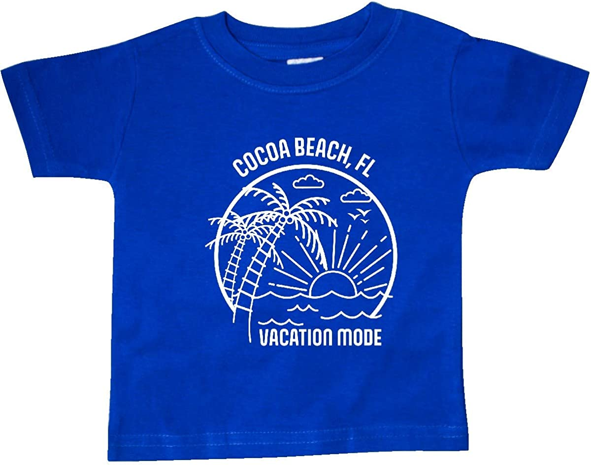 inktastic Summer Vacation Mode Cocoa Beach Florida Baby T-Shirt