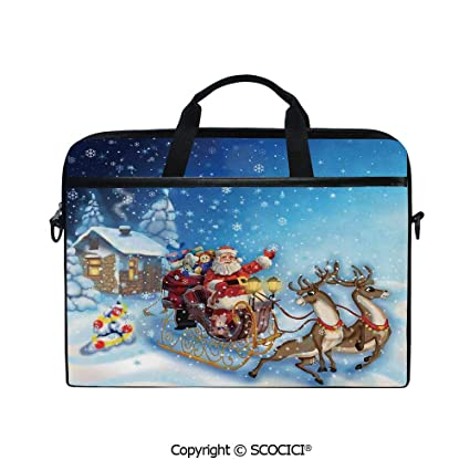 Personalized Reindeer Messenger Bag