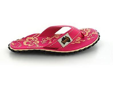 GUMBIES Damen, Pink Hibiscus, Größe 38 EU