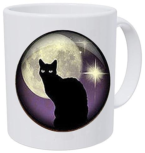 Amazon.com: Hars - Llavero de gato negro, gato negro y ...