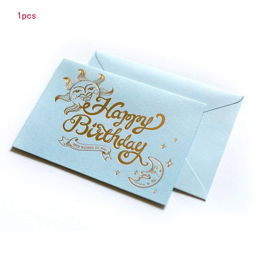 CAIM-Grußkarten Bunte Retro Mini-Geburtstags-Karten-kreative Postkarten-Hoffnungs-Karte alle Gelegenheits-Leere Gelegenheits-Leere Gelegenheits-Leere Umschlag-Papiergruß-Karte (Farbe   F) B07P6K7KNJ | Stil  92b684