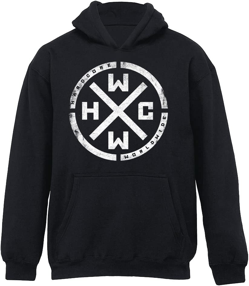 Hcww Hardcore Sweat à capuche imprimé: : Sports et