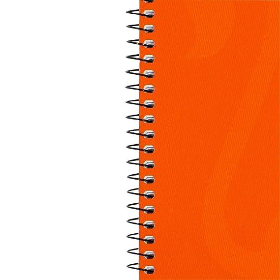 Oxford 100050359 - Cuaderno de espiral (10 unidades, 80 hojas, A4, 90 g/m²), color naranja: Amazon.es: Oficina y papelería