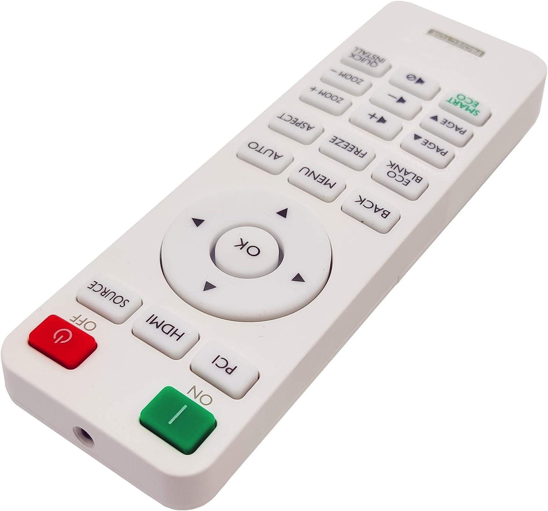 MU641 MX550 MX611 MS610 MW612 MW707 MX707 TH550 INTECHING 5J.JGV06.001// RCX014 Projector Remote Control for BenQ MH550 MS550 MW550