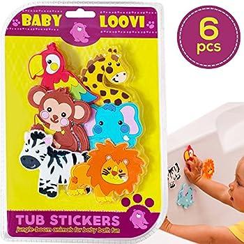 Amazon Com Educational Bath Toys For Toddlers Bathtub