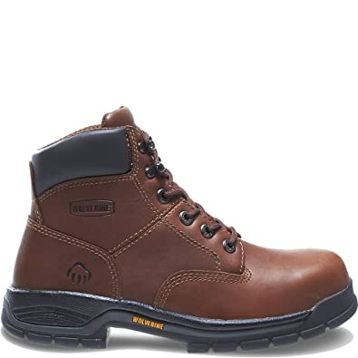 various kinds of pretty cool good service Wolverine Women's Harrison Steel Toe Safety Boot