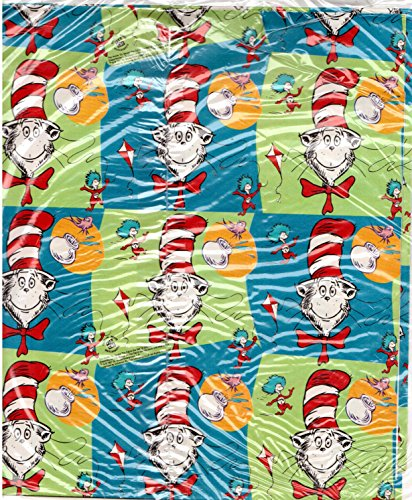 Cat In The Hat Wrapping Paper And Labels