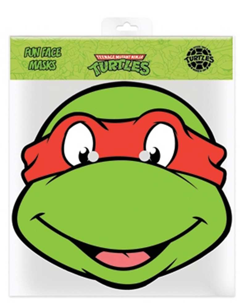 empireposter TMNT Raphael - Ninja turles Máscara de Cartón ...