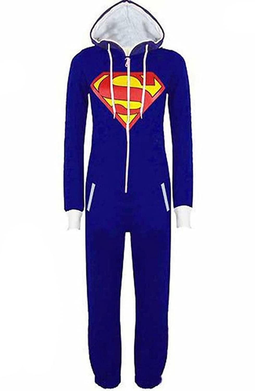 OMSLIFE Herren Damen Overalls Batman Overall Jumpsuit Superman /& Batman Hoodie Hoody Sweatshirt