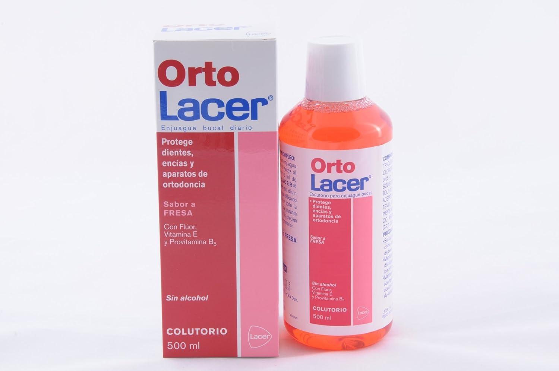 LACER Ortolacer Colutorio Fresa 500ML: Amazon.es: Salud y cuidado personal