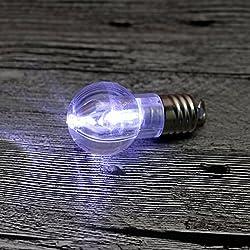 Qiyun Mini Bbulb LED Illuminated Finger Lamp Mini Nightlight Light Bulb Key Chain Children Interactive Toy