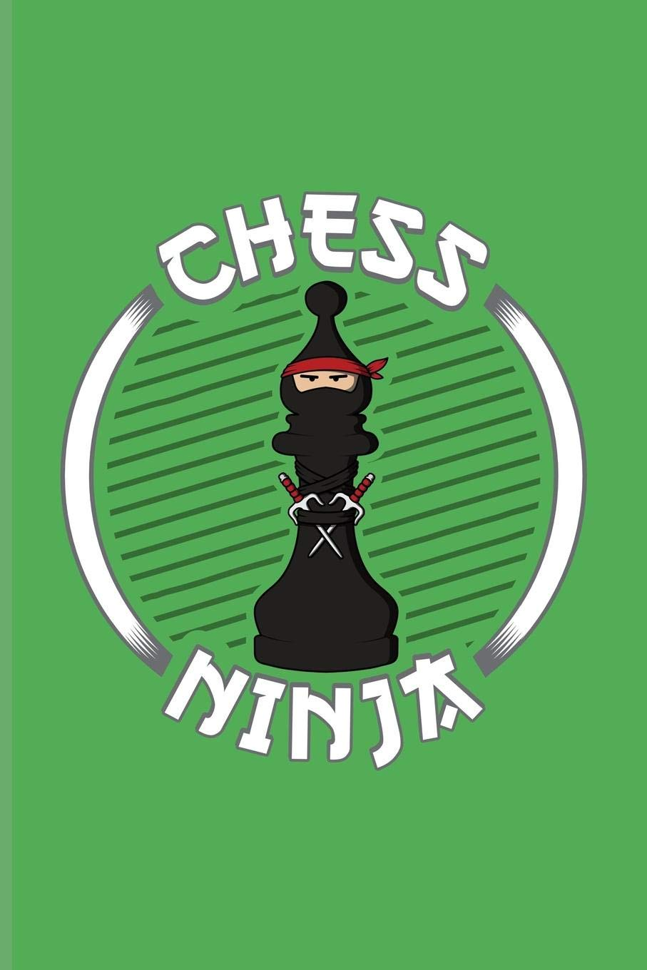 Chess Ninja: Funny Fighting Bishop Piece Journal For Player ...