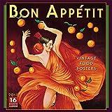 2019 Bon Appétit - Vintage Poster Art 16-Month Wall Calendar: by Sellers Publishing, 12 x 12; (CA-0375)