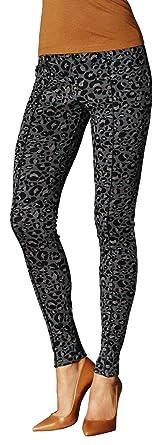 aa5b7c2d8d49b8 ESMARA® Damen Jeggings (Grau - Leopard Muster, Gr. S - 36/