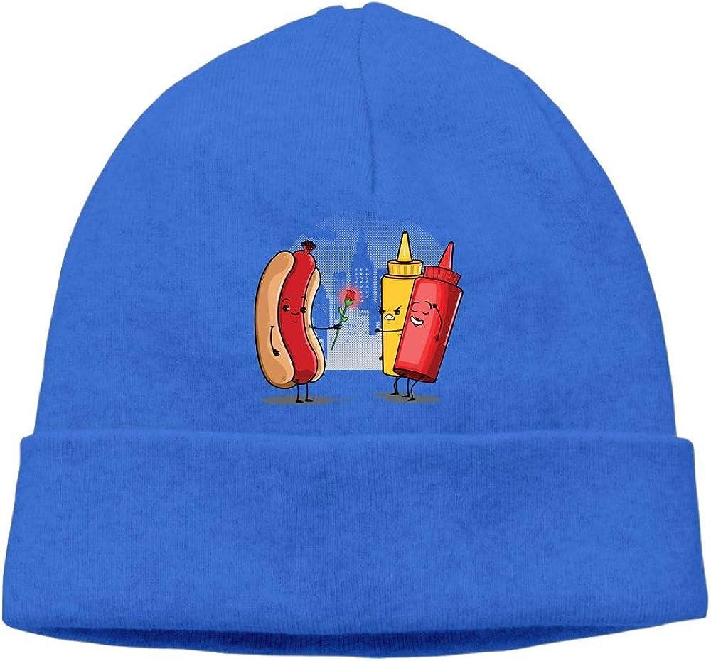 Hot Dog Beanie Hat Skull Hats Mens