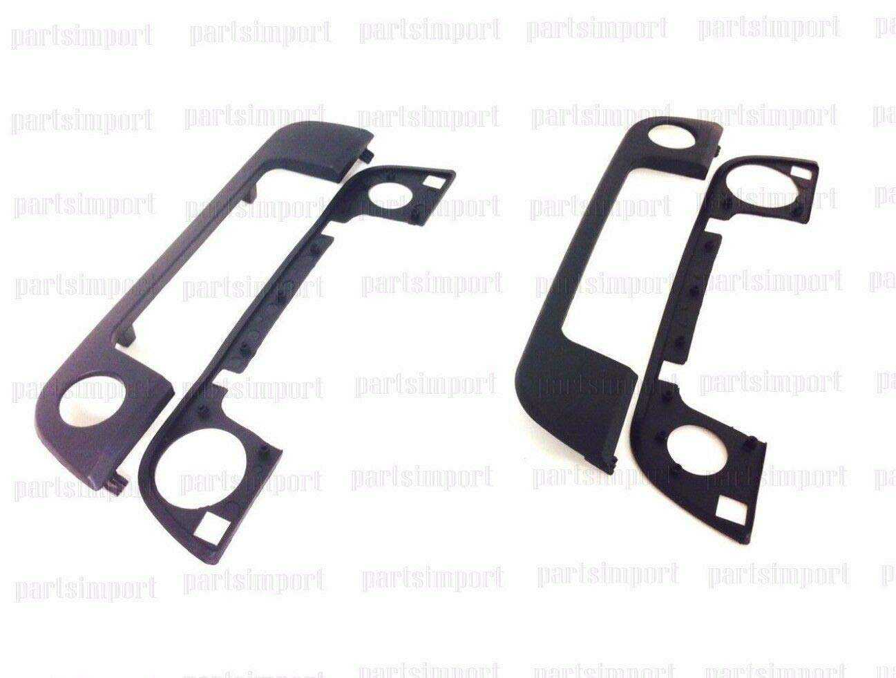 Set of Front Outside Door Handles Cover /& Seals for BMW