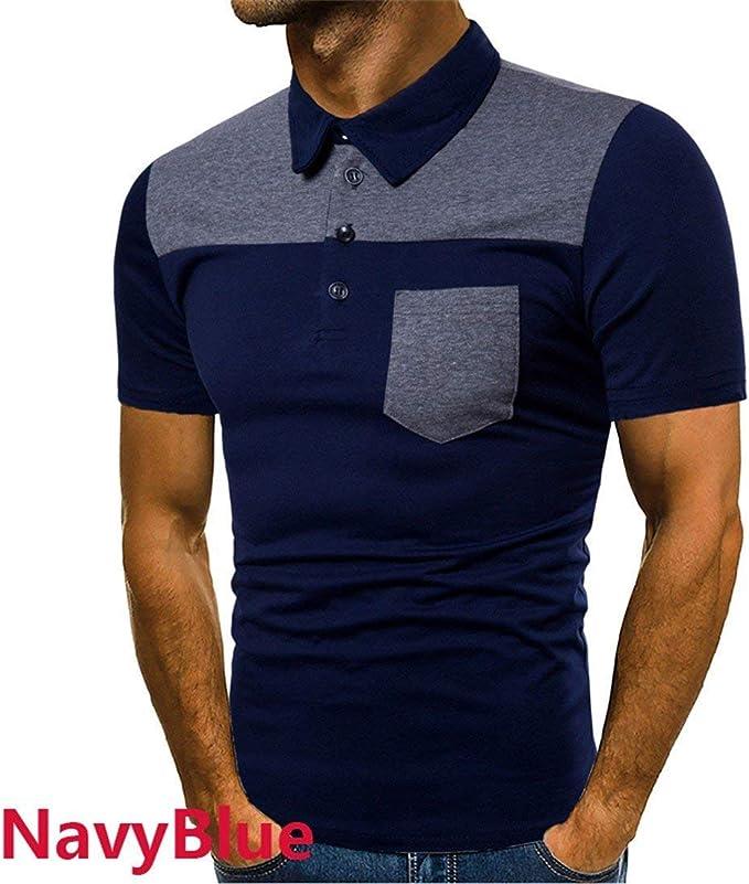 Camisa De Polo De Hombres De Verano Los Simple Estilo De Colores ...