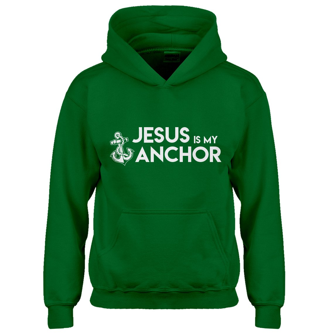 Indica Plateau Youth Jesus is My Anchor Kids Hoodie