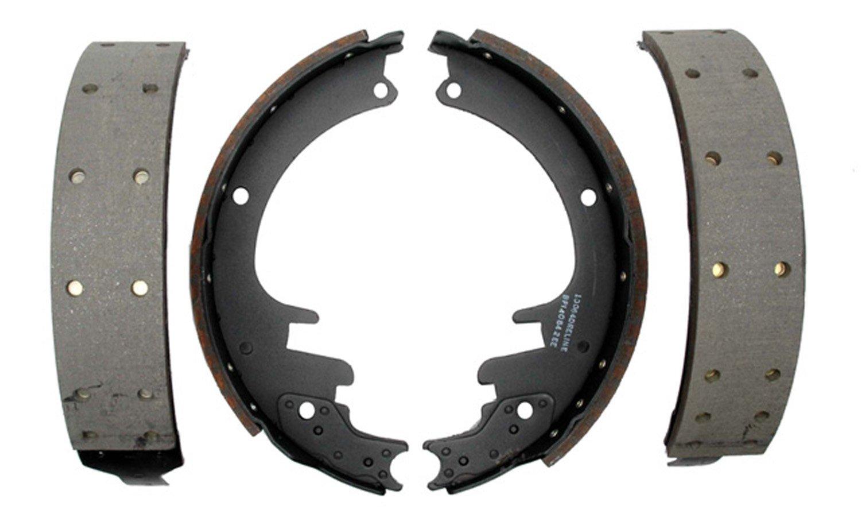 ACDelco 14451R Advantage Riveted Rear Brake Shoe Set