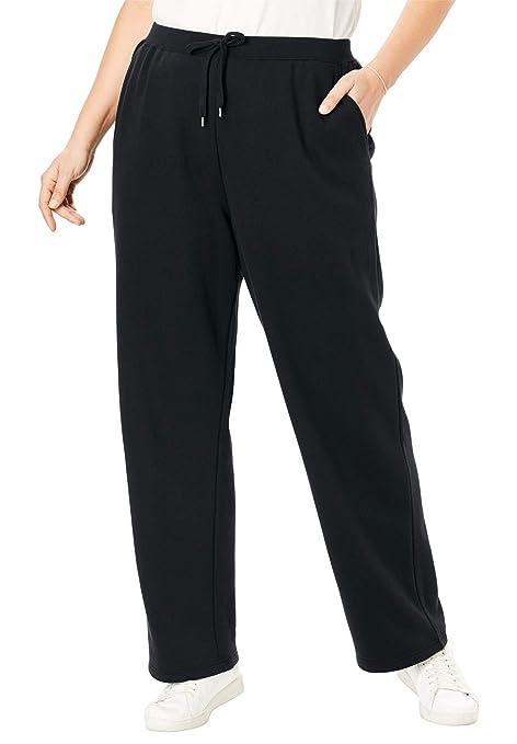 Woman Within Women\'s Plus Size Petite Better Fleece Sweatpant