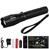 Amazon Price History for:Larnn LED Flashlight Outdoor Waterproof CREE Tactical Flashlight with 5 Modes for Camping Hiking