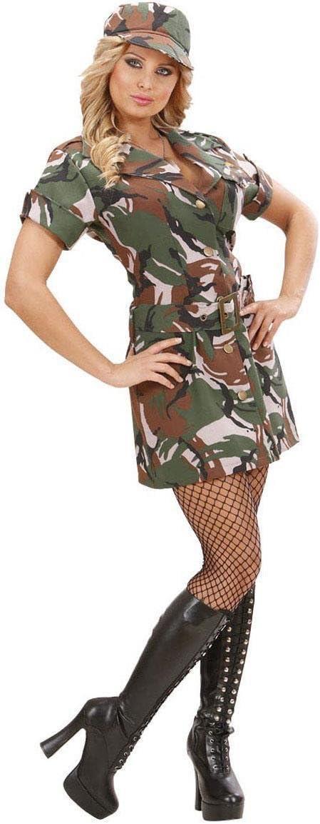 Disfraz militar sexy mujer - M: Amazon.es: Salud y cuidado personal
