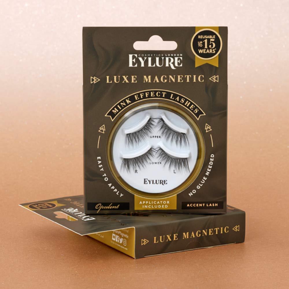 04fedbd37e9 Amazon.com : Eylure Magnetic Lashes Opulent Accent : Beauty
