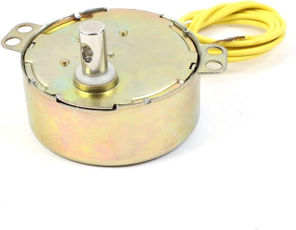 CA 220-240V 4W 5/6 RPM CW/CCW Giratorio Motor Sincrónico para ...