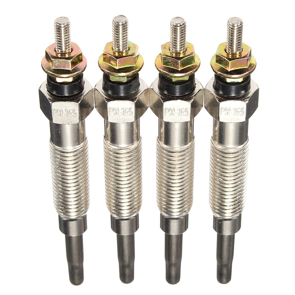 Republe 4PCS Diesel Calentador de buj/ías de incandescencia Compatible para Mitsubishi Pajero Shogun 1994-1999 GP5501 GP7554