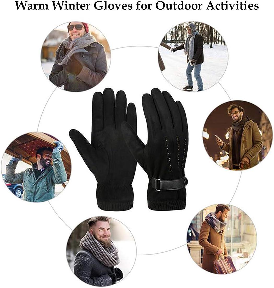 Guantes de Invierno C/álidos Antideslizantes para Ciclismo Con Pantalla T/áctil a Prueba de Viento T/érmicos para Hombres y Mujeres