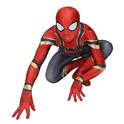 RNGNBKLS Disfraz De Spiderman para Niño Adulto - Disfraces ...