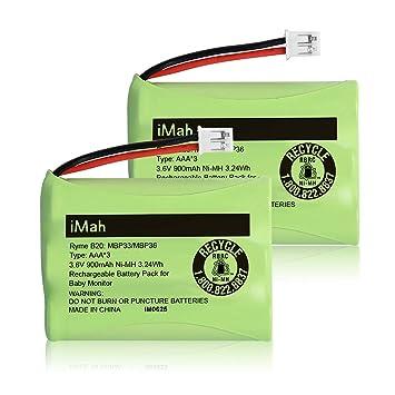 Motorola MBP622 Baby Monitor Rechargeable Battery Pack AAA 3.6v 900mAh NiMH