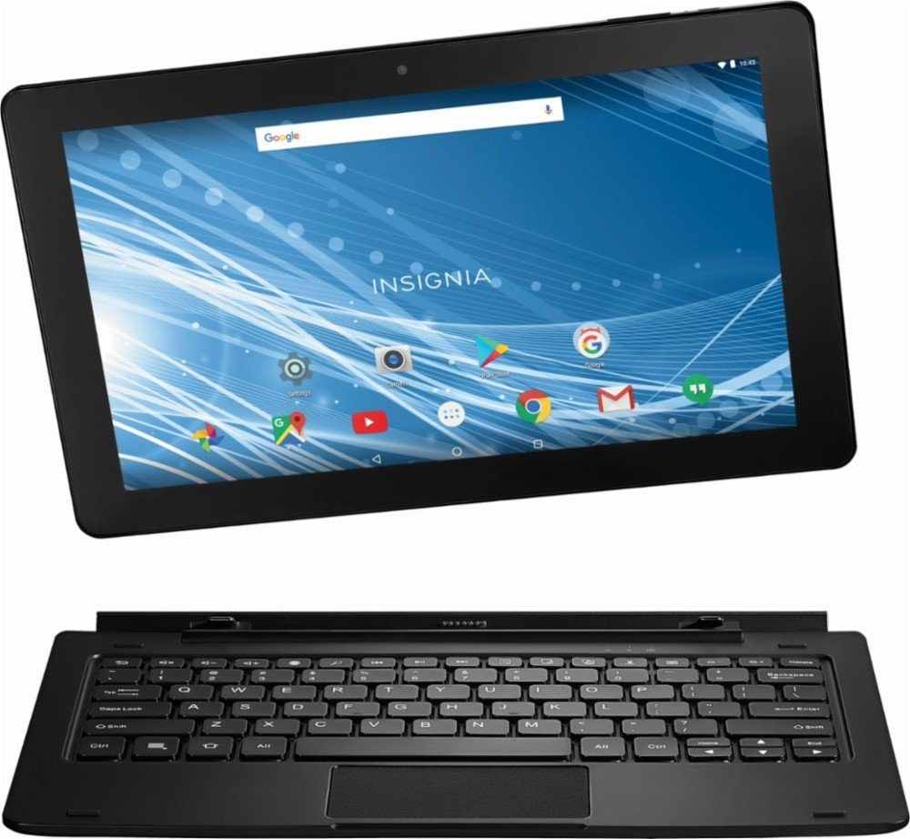 Insignia 11.6'' Tablet 32GB With Keyboard - Black