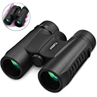 PAIPU 10X40 Compact Binoculars for Adults - Professional Powerful HD Lightweight Binoculars for Birds Watching Hunting Concerts with Clear Weak Light Vision