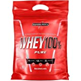Whey 100% Pure Pouch 907G Baunilha, Integralmedica, 907G