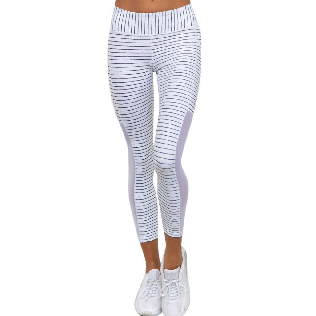FNKDOR Fashion Style Women Outdoor Exercise Slim High Waist Sports Gym Yoga Running Fitness Leggings Pants Athletic Trouser