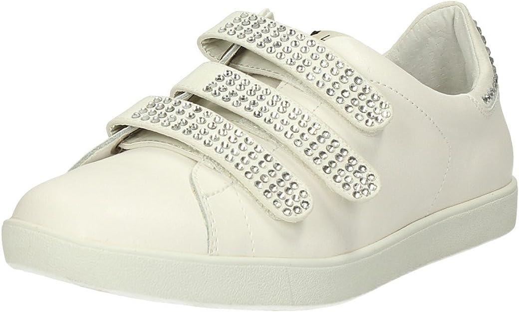 Sneaker donna Liu Jo Aura S65107 snow white con strass (36