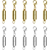 Neodymium 1 Claw Gold Pill Magnetic Jewelry Clasp Connector Extender