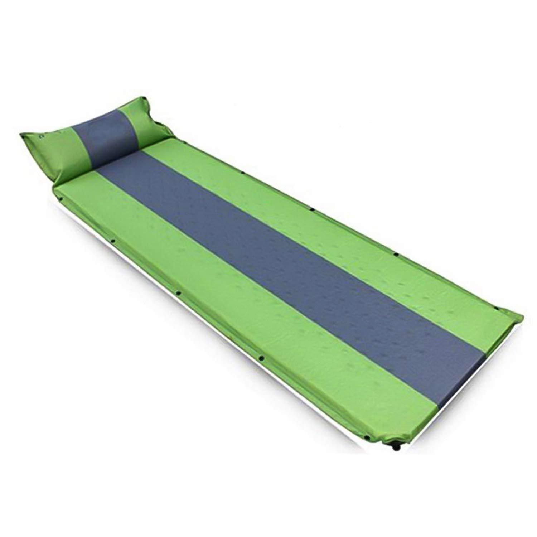 KuanDar Ultra-Light Automatische aufblasbare Kissen mit Kissen im Freien Camping liefert feuchtigkeitsdichten schlafmatten Zelt Camping matten