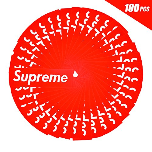 Supreme Sticker, Toufftek Waterproof Supreme Car Stickers fo