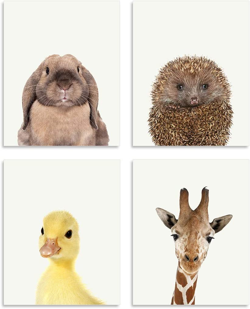 Hedgehog Family Wooden Photo Frame 6 x 4 Landscape or Portrait Wildlife Gift