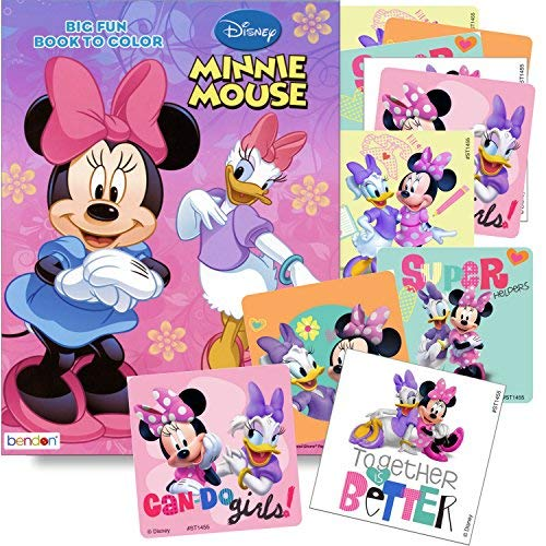 Disney Coloring Books for Kids with Sticker - Minnie -
