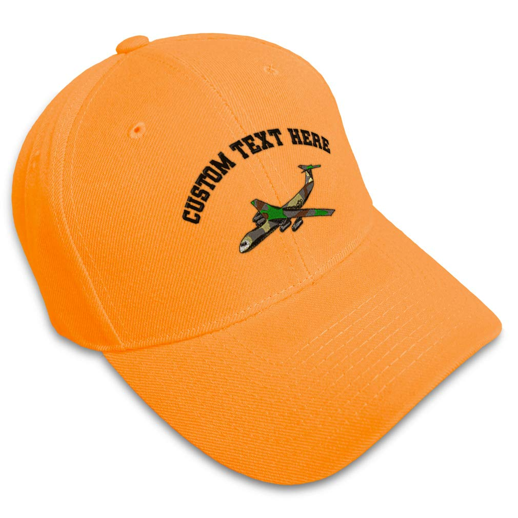 Custom Baseball Cap C-141 Camo Embroidery Dad Hats for Men /& Women Strap Closure